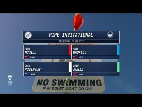 Men's Pipe Invitational: Semifinals, Heat 2
