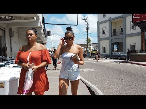 INSIDE BELIZE CITY STREETS 2019 !!! || iam_marwa