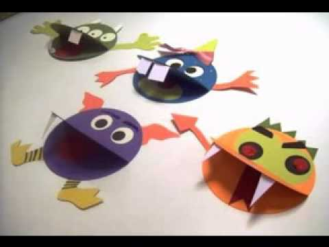 Easy Craft Ideas For Kindergarten Youtube