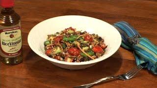 Quinoa, Sugar Snap Peas and Avocado Salad