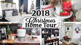 Christmas Home Decor Tour 2018  🎄