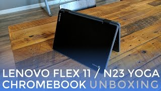 Lenovo Flex 11 / Yoga N23 Chromebook Unboxing