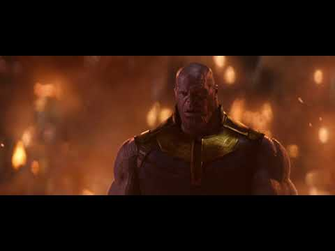 "Avengers: Infinity War | Knowhere Scene | Thanos: ""I like him."""