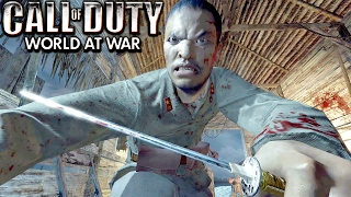 Call of Duty World at War Veteran Campaign Gameplay