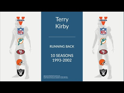 Terry Kirby: Football Running Back