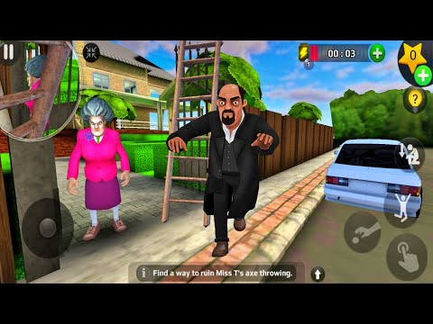 Scary Teacher 3D - New Update New Special Chapter SportsMania ALWAYS ON POINT (Android/iOS)