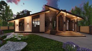 видео Одноэтажные проекты в стиле шале