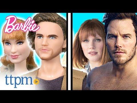 Jurassic World 2 Fallen Kingdom Claire Doll Barbie Collector