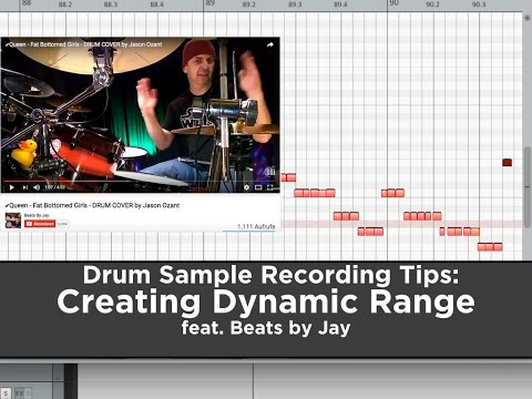 Drum Sample Recording Tips: Creating Dynamic Range (feat. Beats by Jay))
