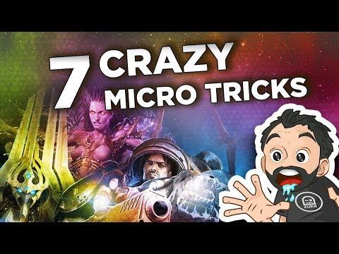 Starcraft 2 - 7 CRAZY and Useful Micro Tricks ! (Zerg, Protoss and Terran)