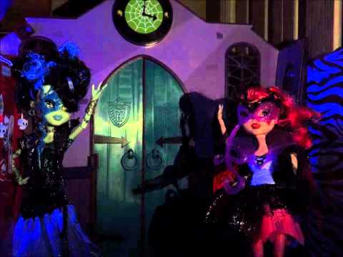 Monster High Ghouls rule stop motion