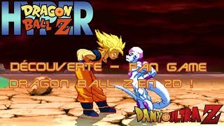 Hyper Dragon Ball Z : Découverte - Fan Game Dragon Ball Z en 2D !