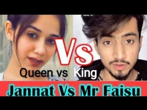 Jannat Zubair Vs Faisu Team 07 Tik Tok Stars Funny Videos