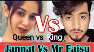 Jannat Zubair Vs Faisu Team 07 Tik Tok Stars Funny  Videos Compilation