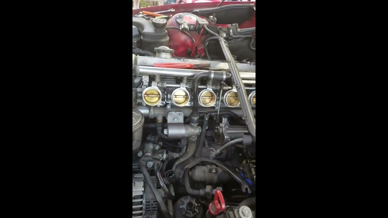Crankshaft Position Sensor located on a BMW M3 SMG
