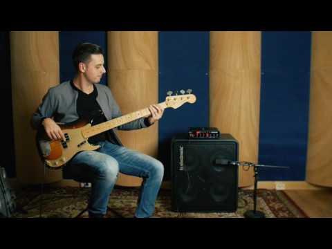 Lex Geerlings demoes the RH750 bass amp