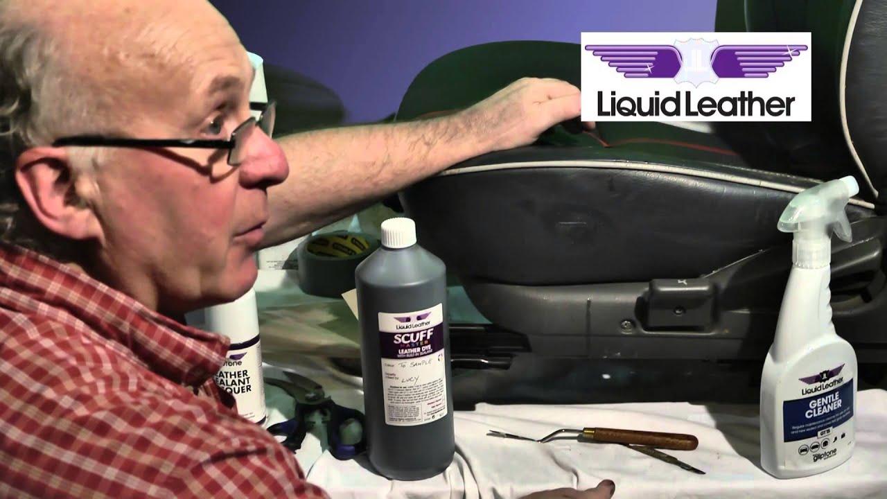 Liquid Leather Part Ten Repairing Tear On Car Seat