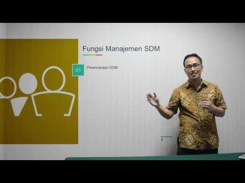 Pengertian dan Fungsi MSDM oleh Dr. Herwan Abdul Muhyi, M.Si.