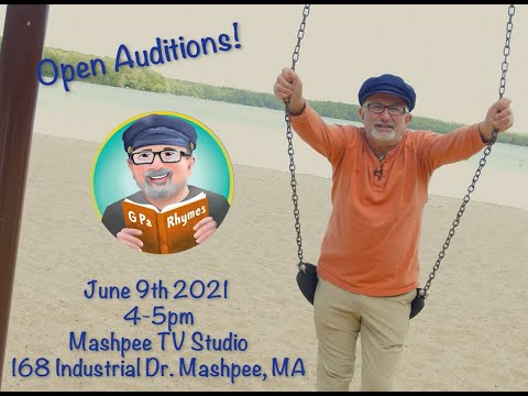 Story Time with G Pa Rhymes Casting Call