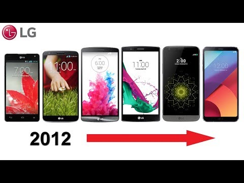 History of LG G Series Phones 2012-2018