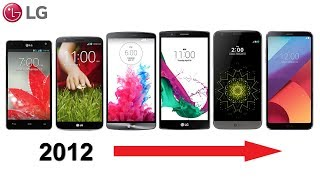 History of LG G Series Phones 2012-2018