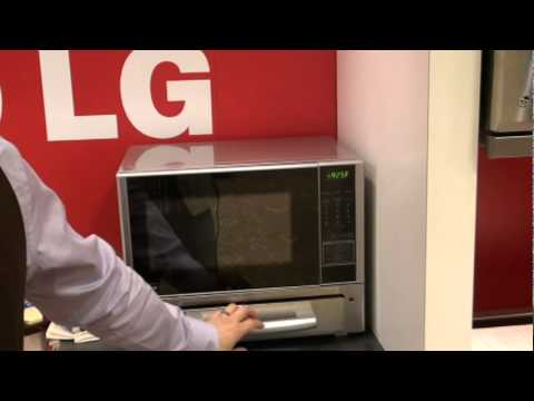 lg s new microwave toaster combo demo