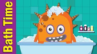 Bath Time Song | Learn Body Parts | Fun Kids English