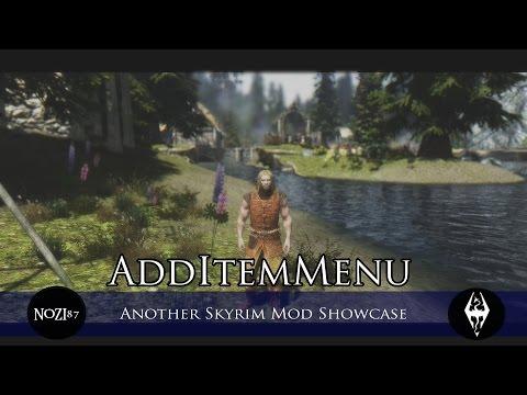 скачать мод Additemmenu - фото 5