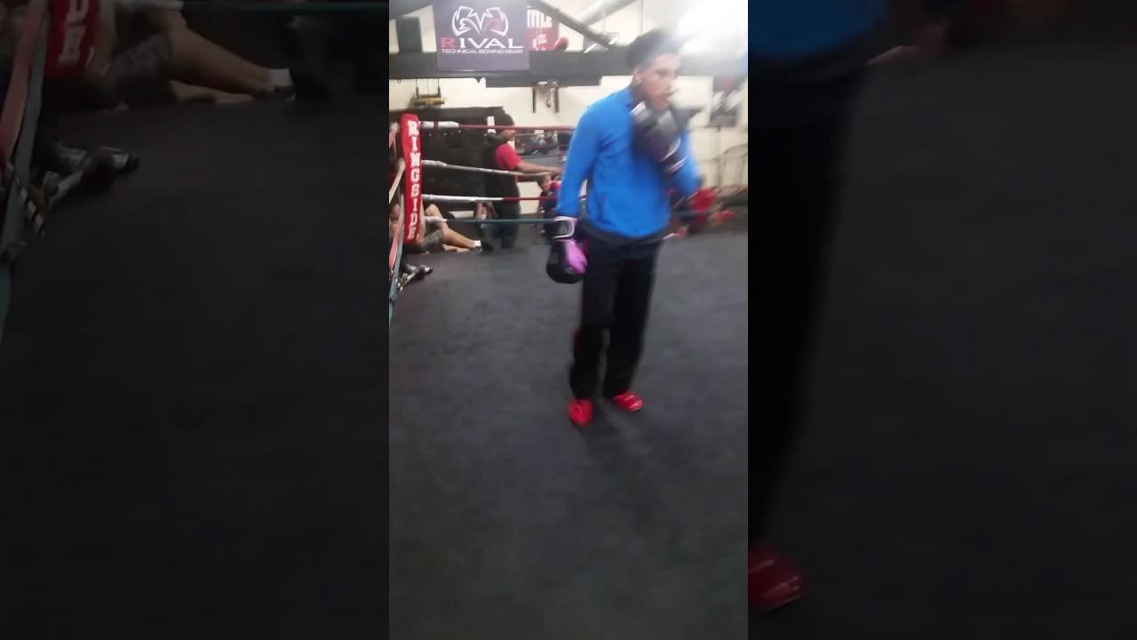 Davin Baker@ Jinji Boxing Club