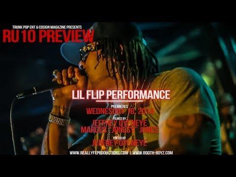 #RU10Preview - Lil' Flip Live Performance