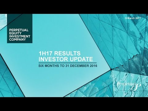 Perpetual Equity Investment Company 1H17 Results Presentation