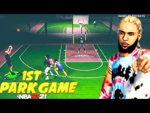 YOU WON'T BELIEVE HOW MY FIRST GAME IN THE PARK WAS IN NBA 2K21 |