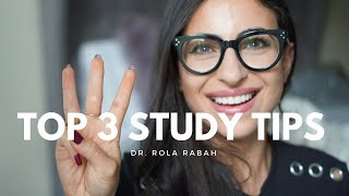 Top 3 study tips - a guarantee for success