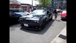 V8 加速サウンド Dodge Challenger