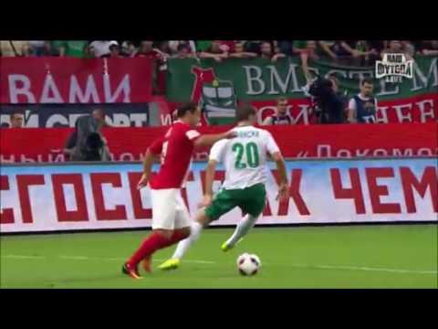Lokomotiv Moscow 2 - 2 Tom Tomsk - Russian Premier League - Day 2- 07/08/2016