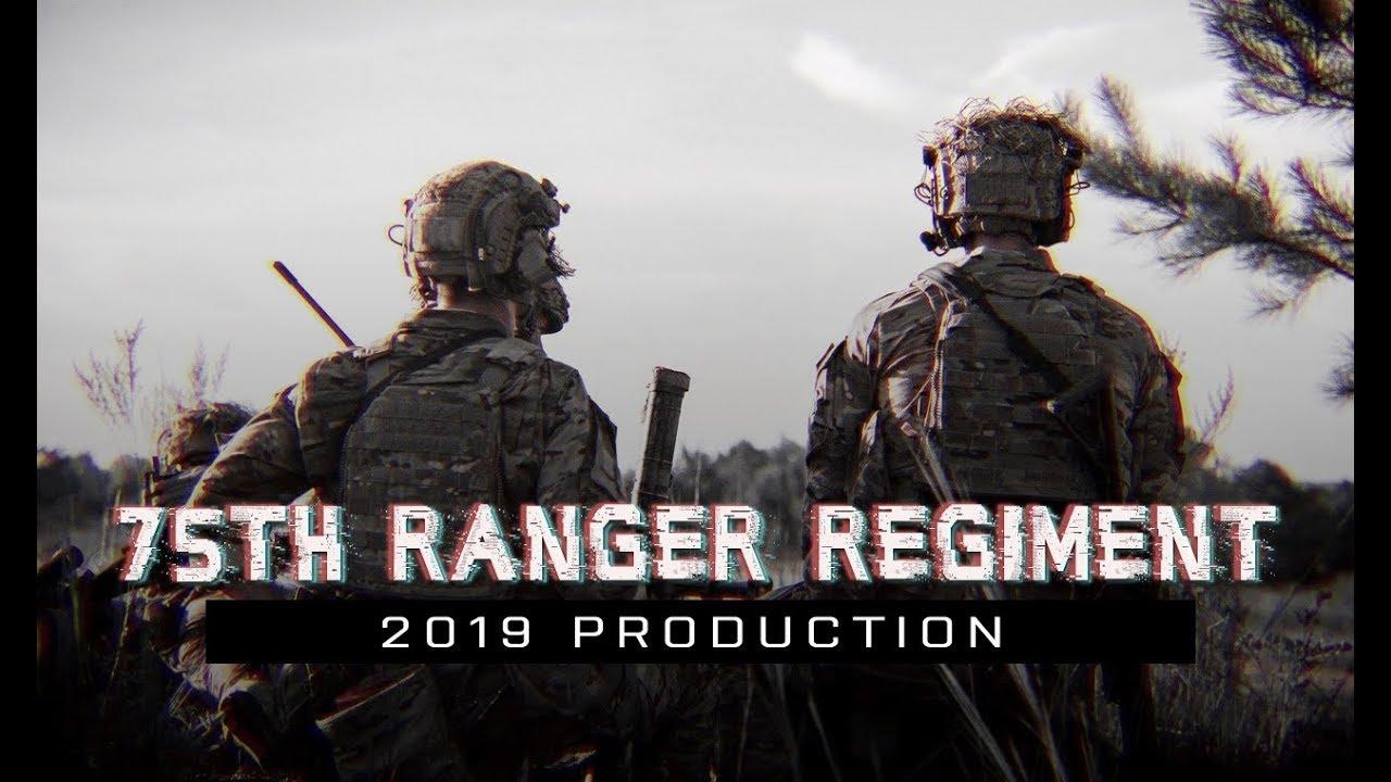 "75th Ranger Regiment | 2019 | ""Rangers Lead the Way"""