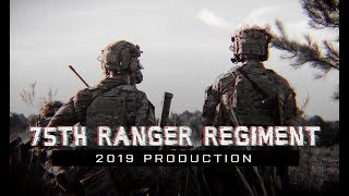 Sua Sponte The 75th Ranger Regiment, also known as Rangers, is an e...