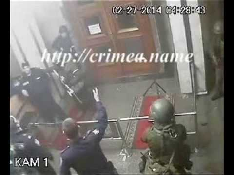 Russians Special Forces in Crimea 2-27-14