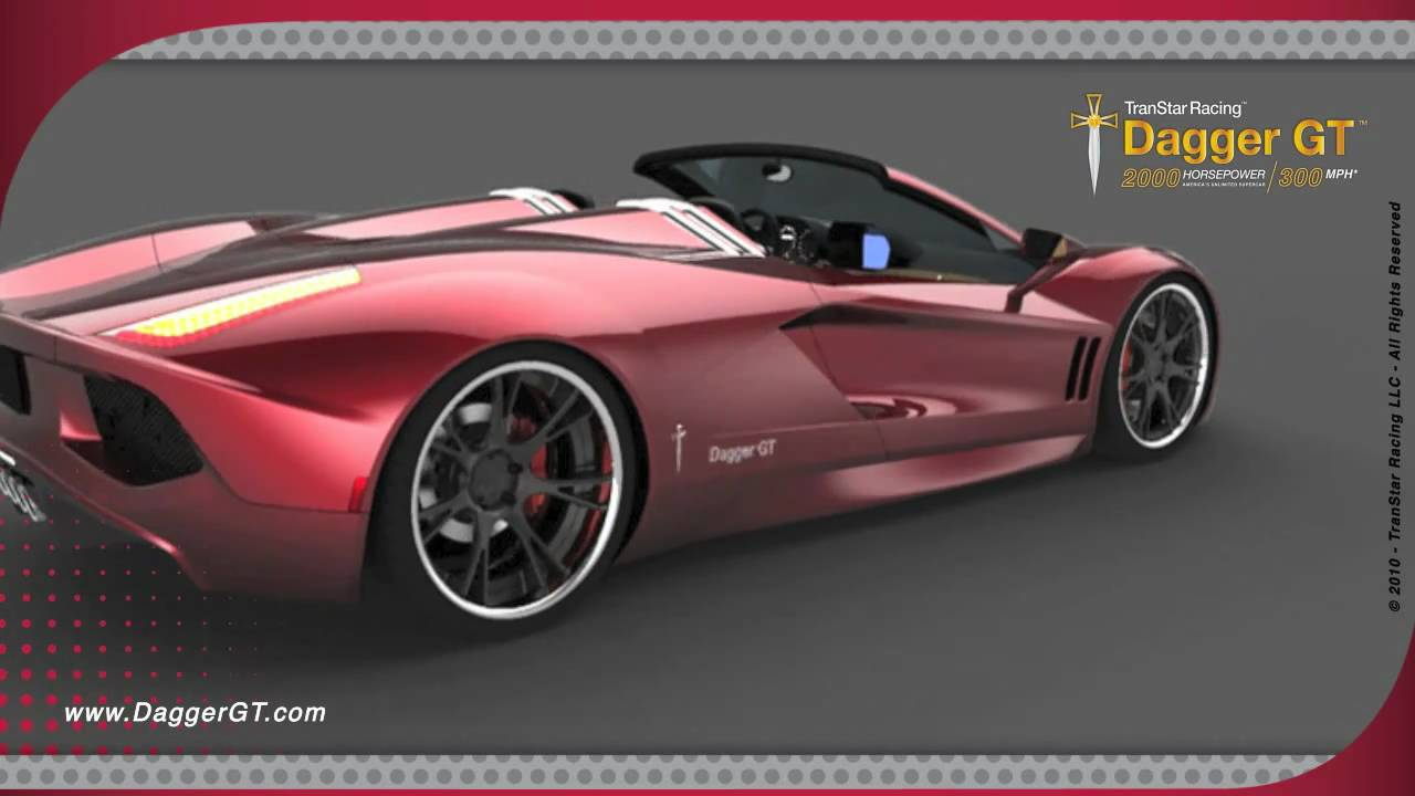 2011 Transtar Racing Dagger Gt Official Youtube