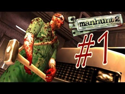 Manhunt 2 / Охота на человека 2. Прохождение. #1.