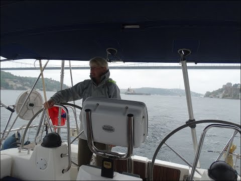 Sailing through the Bosphorus. Turkey to Bulgaria EP3. A Sailing Kejstral Adventures Episode.