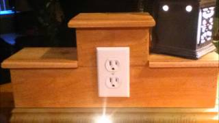 Unpainted Display Tier Box For Scentsy/partylite Consultants