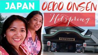 Tokyo Travel Vlog -Anong meron sa Onsen?