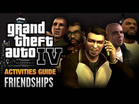 GTA 4 - Friendships Guide [Liberty City (5) Achievement / Trophy] (1080p)
