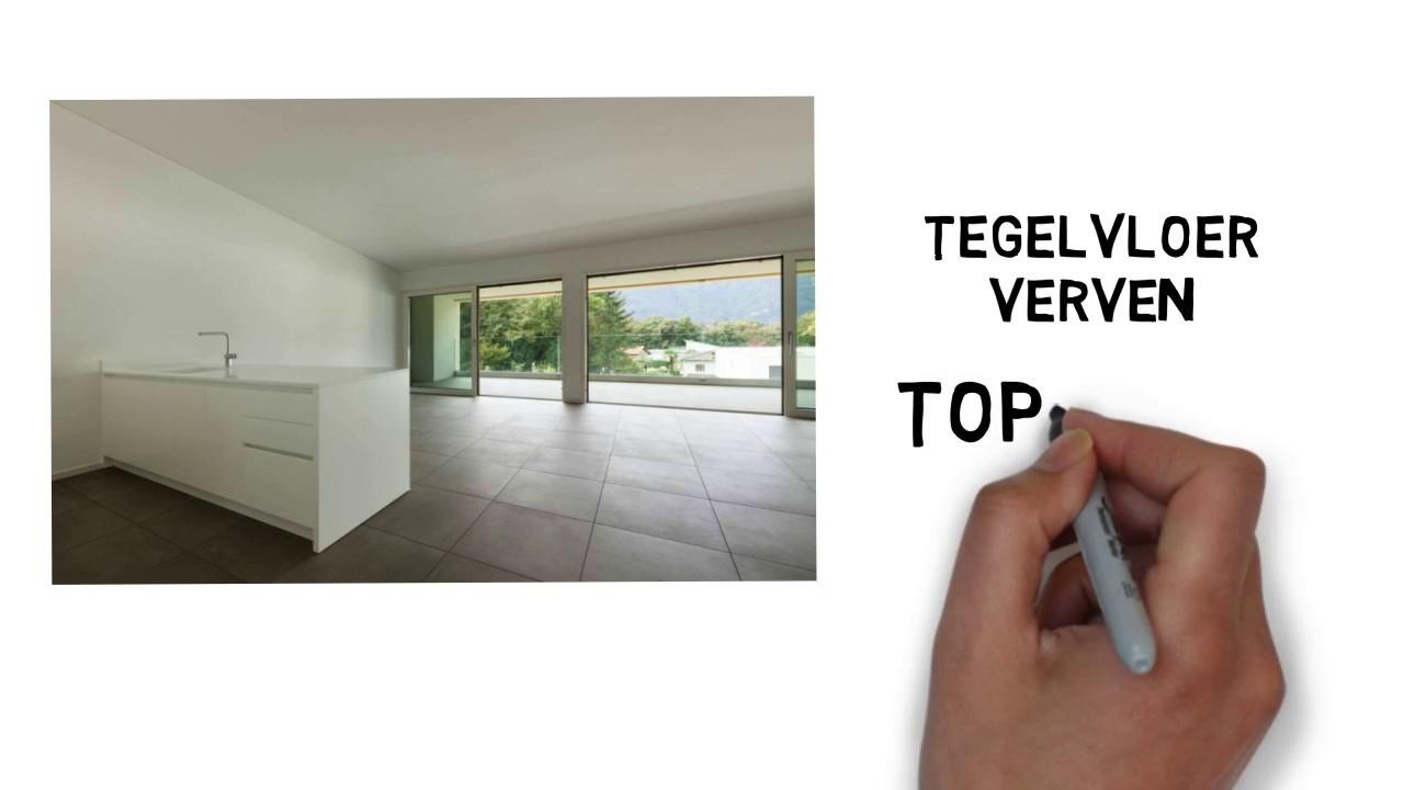Tegelvloer Verven Vloerverf Top 3 Tips Youtube