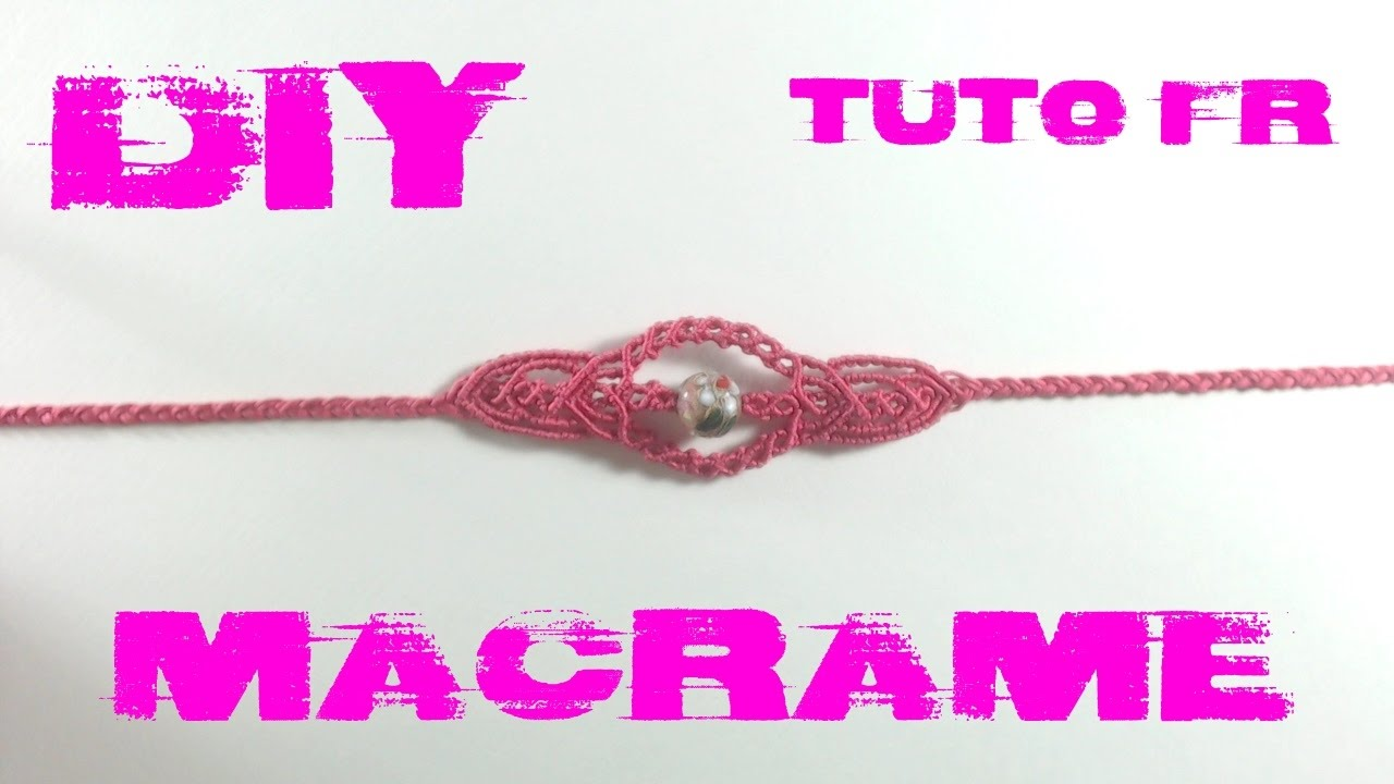 diy tuto bracelet boh me en macram youtube