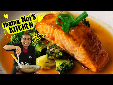 Sticky Chili Ginger Salmon - Marion's Kitchen