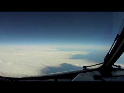 Passing Greenland & Iceland