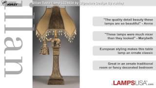 Ashley Lamp Set Dillan Bronze Elephant L324934