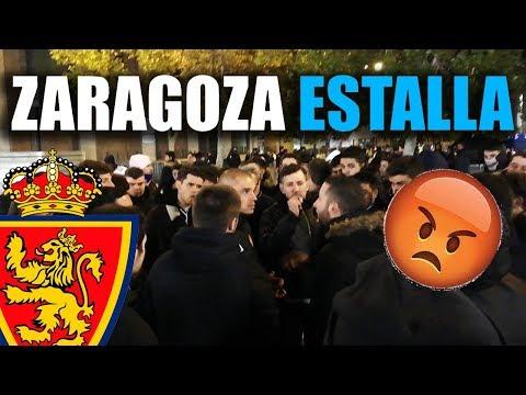 ¡ASÍ ESTALLÓ LA AFICIÓN DEL ZARAGOZA!| La Liga 123 | Senén Morán